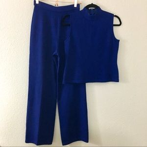 St. John • Suit Bundle • Royal Blue • Sz 4